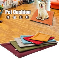 Cozy Pet Mat Puppy Pet Cat Dog Nest Bed Puppy Blanket Sac de couchage Mat Pad Soft Warm Fleece Cushion Sleep Mat Fournitures pour animaux à l'humidité
