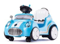 Wholesale new cartoon style colorful four wheel double drive CCC certificate Electric ride on car for kids