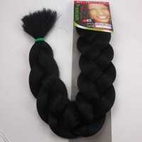 Wholesale expressions braiding hair braid resale online - XPression Braiding Hair G quot Ultra Braid Hair Bulk For Braiding Expression Jumbo Braids Synthetic Hair Extension
