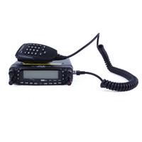transceptor duplo venda por atacado-TYT TH-7800 Dual Band VHF UHF Caminhão Do Carro de Rádio Móvel Cabo Transceptor LB0030 Frete grátis