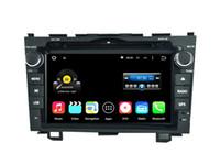 Wholesale Car Dvd Honda Crv - Quad Core Android 5.1 6.0 Car DVD Radio For CRV 2006 2007 2008 2009 2010 2011 For Honda With Stereo GPS