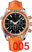 pulseiras de couro para homens venda por atacado-Pulseira de couro Mecânico Mens Aço Inoxidável Relógio Automático Esportes mens Auto-vento Relógios James Bond 007 Skyfall designer Relógio de pulso