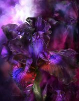 Wholesale Flowers Definition - Modern Flower Art Painting Beautiful High Definition Giclee Print On Canvas Fantasy Home Decor Wall Art oil Painting Fancy811