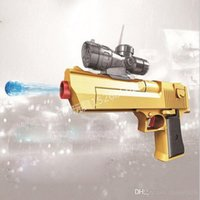 Wholesale Eagle Toys Plastic - 2017 new toy sports toys desert eagle plastic toys can launch water bullets cool toys children CS games Toy Guns