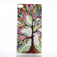 Wholesale Tree Artists Paintings - For Huawei Ascend P8 Artist Painting Tree tearful eye eiffel tower UK USA FLAG hard case for Huawei P8 G7 G610 G630 case