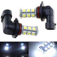 Wholesale Universal Fog Lights Hid - new arrival!2x 12V HB3 9005 18SMD 5050 LED HID White LED Car DRL Fog Driving HeadLight Bulb Lamp CLT_02Z