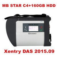 Gros-Best A + Qualité MB Star C4 SD Connect Star Diagnosis + Xentry DAS 2.016,09 Compact 4 Multiplexeur Pour Mercedes Benz Diagnostic Tool