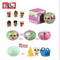 Wholesale Inflatable Figures - LOL SURPRISE DOLL Series 2 Dress Up Toys baby Tear change egg Realistic Baby Dolls lil Sisters 45+ to Collect Ship in 1 Day