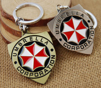 Wholesale Umbrella Men - Hot ! 2016 new arrived movies Resident Evil umbrella keychain Attractive design keyring Accesorios