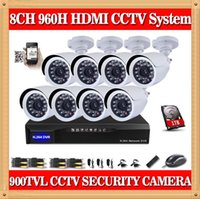 Wholesale Dvr Kit 1tb - CIA- DAH 8CH Full 960H DVR CCTV 8CH Security Camera System 900TVL Outdoor Day Night IR Camera Kit Video Surveillance System 1TB HDD