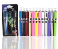 Wholesale Electronic Cigarettes Rechargable - EVod MT3 Blister kit pack Electronic Cigarette mt3 Rechargable atomizer MT3 clearomizer eVod Battery 650mah 900mah 1100mah