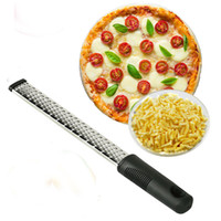 Wholesale citrus grater - Multifunctional Practical Cheese Grater Stainless Steel Lemon Zester Citrus Peeler Chocolate Fruit Grater Kitchen Tools Free Shipping