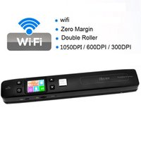 Commercio all'ingrosso - KEMBONA Iscan Wireless Wifi Portable Digital Scanner1050DPI Handyscan Document Photo Receipts Libri Double JPG / PDF TF Card 32G