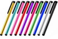 caneta afiada do ipad venda por atacado-Caneta Stylus capacitiva para iphone xs max xr ipad mini ar 2 3 4 samsung tablet pc Universal tela de toque canetas de bolso