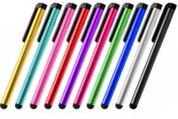 ingrosso mini stilo per tavoletta-Capacitive Stylus Pen per iphone xs max xr ipad mini air 2 3 4 samsung tablet pc penne tascabili Universal Touch Screen