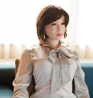 Wholesale Real Japan Sex Doll - 2018 new style sex doll,new style hot sale japan silicone real doll for adult man mini sex love dropship toys factorysex dolls product for m