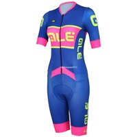 Wholesale Bicycle Skinsuit - 2016 ale Women Cycling Jersey Padded Cycling Skinsuit Triathlon Bike Jersey Downhill Mtb Bicycle Jersey Cycling Clothing Ciclismo