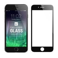 Wholesale Curve Body - 3D Curved Full Covrage full body Cover Tempered Glass Screen Protector Film For iPhone 8 7 Plus with Retail Box