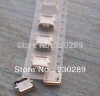 Wholesale Usb Pin Long - Free shipping 10pcs lot Micro 5 pin usb connector long pin SMT connector charm smt solder