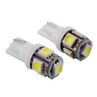 Wholesale w5w bulbs canbus online - Canbus T10 smd LED car led Light Canbus W5W SMD Error Free White Light Bulbs