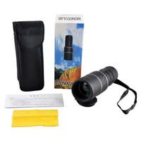 Wholesale Wholesale Mini Binoculars - Outdoor Mini 30x52 Dual for Focus Optic Lens Day Night Vision Armoring Travel Monocular Telescope Tourism Scope Binoculars Wholesale 2507007