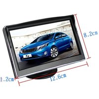 Wholesale Best View Monitor - Best Suited Car Monitor For Car-styling Dashboard Placement 5 inch TFT LCD Monitor For Car Rear Camera Reverse Rear View Camera