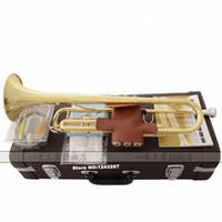 Wholesale Gold Brass Trumpet - Trumpet YTR-2335S instrument B flat trumpet Grading preferred shipping