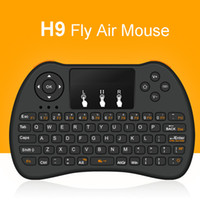 H9 Wireless Mini tastiere VS Rii i8 tastiere PC wireless Fly Air Mouse Multi-Media telecomando Touchpad Palmare per S905X X96 TV BOX