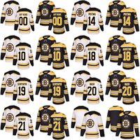 2017-2018 Season 10 Andere Bjork 14 Paul Postma 18 Kenny Agostino 19  Zachary Senyshyn 20 Riley Nash Boston Bruins Custom Hockey Jerseys 9b14d4451