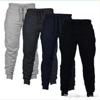 Wholesale Harem Sweat Pants - Casual Jogger Pants Chinos Skinny Joggers Camouflage Men designer New Fashion Harem Pants Sweat Pants Men Trousers