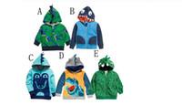 Boys Kids Dinosaur Hoodies Boy Dinosaur Clothing Jackets Coats Children Autumn Hoodies Boy Baby clothes Hoodies KM 001