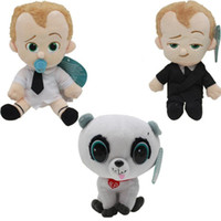 Wholesale Diapers For Kids - 3style Dreamworks Movie The Boss Baby Plush Dolls Soft Stuffed Toys 20cm Suit Diaper baby Pet Cartton toys for children