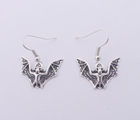 Wholesale Hot Sale Alloy Bat Earrings E3408