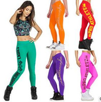 Wholesale Leggings Femme - Women Sexy Gym Sports Wear Leggings Fitness Push up Jeans palazzo Jogger Running Jeggings Pro Ball Pants Plus Size Leggins Femme hight quali