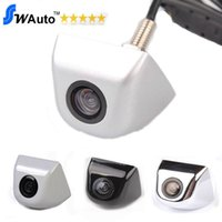 Wholesale Rearview Wired Camera - Wholesale-HD CCD Waterproof Wire Car Rearview Rear View Camera Vehicle Parking Reverse System (Optional: foldable monitor  LCD Mirror)