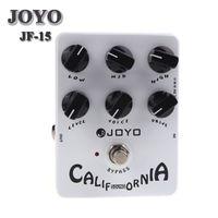 Wholesale guitar sound pedals resale online - JOYO JF California Sound Electric Guitar Effect Pedal True Bypass JF