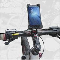 ingrosso bici-Accessori per biciclette Accessori per manubrio Supporto per bicicletta Supporto per bici per cellulare Supporto per iPhone 4 4S 5 5s 6 6s plus Custodia Samsung