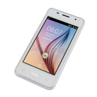 """Wholesale Mobile Touch Screen Gsm - 4"""" Smartphone H-Moblie V1 Android 4.4 SC6820 800*480 Touch screen Dual SIM camera wifi GSM Unlocked colorful Mobile Cell phone Free shipping"""