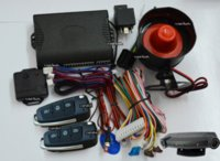 Wholesale Trunk Release Car Alarm System - one way car alarm system is with ultrasonic sensor,motion alarm system,big sound siren,power off memory,remote trunk release