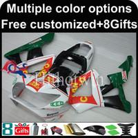 Wholesale Cbr929rr Fairing Kit - 23colors+8Gifts green white Boda kit motorcycle cowl for HONDA CBR929RR 2000-2001 CBR929RR 00 01 ABS Plastic Fairing
