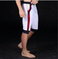 Wholesale Mens Nylon Boy Shorts - Wholesale-2016 Hot Summer Mens Shorts clothing boys Shorts Sport Casual gym Short Men Jogger Trousers Knee Length Shorts Man Fashion