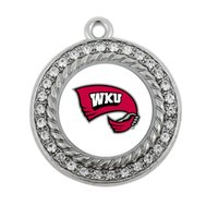 Wholesale Antique Kentucky - FSHION COLLEGE Western Kentucky Hilltoppers SPORT team charm antique silver plated jewelry