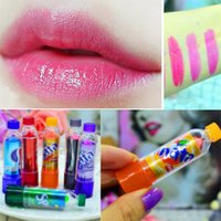 Wholesale Dark Pack - 240pcs= 10 packs Cola Balm Cute Color Changable Lip Balm Moisturizer Faint Scent Lipbalm Lipstick Brand Maquiagem Lips Care