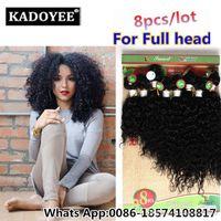 cheveux brésiliens bouclés 8inch achat en gros de-8inch Ombre Burgundy Curly Hair Weaves Extensions de cheveux humains Weave Bundles Kinky Curly Bundles de Weave Hair Brésiliens Afro Kinky Curly