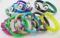 Candy Colorful Rubber Snap Jewelry Bracelet Fit Women Snap Button Jewelry DIY Gifts Beach Style Силикон B050