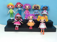 Wholesale Lalaloopsy Big Doll - 8pcs MINI LALALOOPSY Action Figure doll one piece color 8cm kid child birthday gift play house toys collection girls brinquedos
