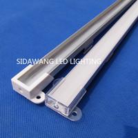 Wholesale industrial pieces online - 15pcs m m per piece Aluminum led channel for Kitchen Led Strip led aluminum profile QC013X M