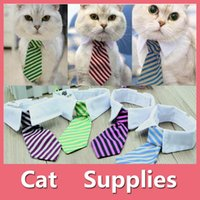Wholesale Dog Bow Ties For Weddings - Gentleman Pet Supplies Puppy Necktie Small Dog Clothes Tie for Dog Cat Costumes With 5 Colors