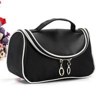 Wholesale Handbag Ems - Free shipping EMS 2016 New Makeup Cosmetic Bags Retro Beauty Wash Case Zipper Handbag Makeup Bags+ Free gift HZB001-060