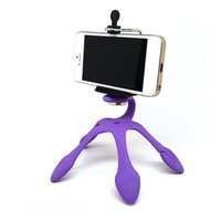 Portable Universal Flexible Gecko Mini Stativ Mount Multi Funktion Telefon Kamera Stand Octopus Spider Halter für alle Handys Android HOT DHL